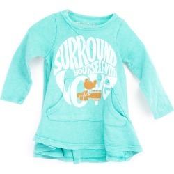 Woodstock - Girl's Surround Yourself With Love Green Dress | Size 18-24 Months