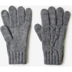 Rivers Cable Knit Glove - Grey - ONE found on Bargain Bro from Rockmans for USD $5.63