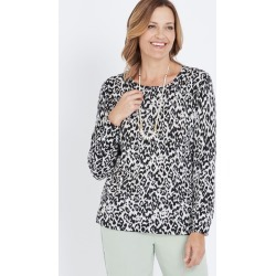 Millers Leopard Print Jumper - S found on Bargain Bro from Noni B Limited for USD $14.68