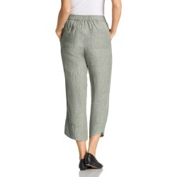 Grace Hill Button Cuff Linen Pants - Sage - 8 found on Bargain Bro India from Rockmans for $38.12