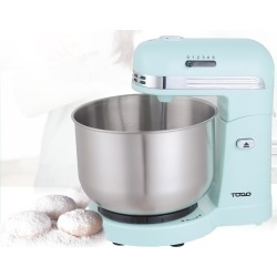 Todo 350w 5 Speed Electric Stand Mixer With 3.5l Stainless Steel Bowl Retro - Blue - One found on Bargain Bro from Noni B Limited for USD $43.44