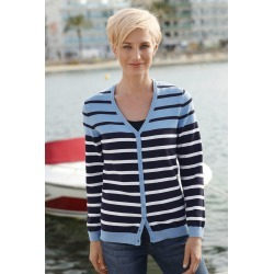 Capture European Stripe Cardigan - Blue Stripe - 36 found on Bargain Bro Philippines from Rockmans for $25.34