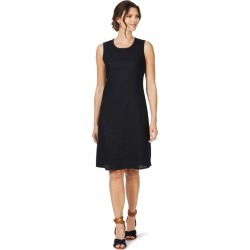 W.lane Trim Detail Linen Dress - Navy - 10 found on Bargain Bro from BE ME for USD $36.63
