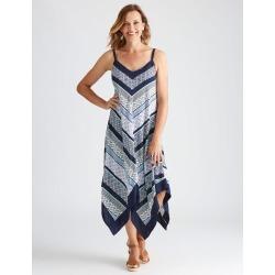 Millers Sleeveless Chevron Tile Dress - Chevron Print - 18 found on Bargain Bro from Katies for USD $11.83