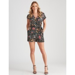 Crossroads Wrap Playsuit - Animal Non Print - 10 found on Bargain Bro Philippines from crossroads for $19.65