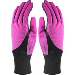 Nike Women?s Dri-fit Printed Tailwind Running Gloves Medium - Pink - One found on Bargain Bro India from crossroads for $26.65