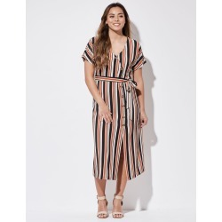 Crossroads Strpe Bttn Midi Dres - Print Multi - 16 found on Bargain Bro India from Rockmans for $20.28