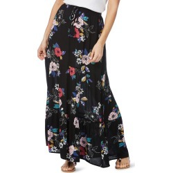 Rockmans Floral Print Maxi Skirt - Multi - 12 found on Bargain Bro India from Noni B Limited for $14.08