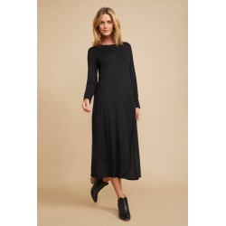 Grace Hill Swing Midi Dress - Black - 8 found on Bargain Bro from Noni B Limited for USD $25.83