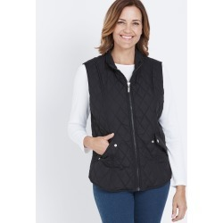 Millers Quilted Vest - Black found on Bargain Bro Philippines from crossroads for $21.52