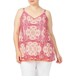 Beme Indian Patchwork Print Top - Patch Print - 14 found on Bargain Bro from BE ME for USD $8.53