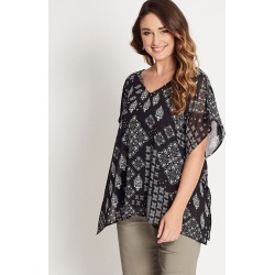 Katies V-neck Kaftan With Cami - Mono Moroccan - 8 found on Bargain Bro Philippines from BE ME for $7.86