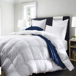 Royal Comfort Deluxe Pure Soft Duck Feather & Down Quilt - White - Single found on Bargain Bro India from W Lane for $65.17
