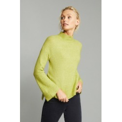 Emerge High Neck Rib Sweater - Celery - M found on Bargain Bro India from Rivers for $22.84