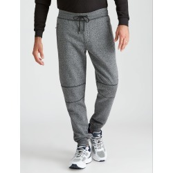 Rivers Knee Panel Jogger Trackpant - Black Grindle - L found on Bargain Bro from Rockmans for USD $17.52