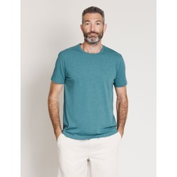 Rivers Basic Crew Neck Tee - Blue Coral Marl found on Bargain Bro from crossroads for USD $7.89