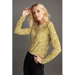 Emerge Printed Long Sleeve Knit Top - Zebra Print - 10 found on Bargain Bro from Noni B Limited for USD $28.18