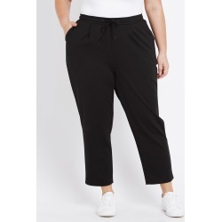 Beme Full Length Smart Jogger Pant - Black - 18 found on Bargain Bro from Rockmans for USD $40.86