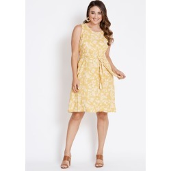 Katies Tie Waist Shift Dress - Golden Floral - 10 found on Bargain Bro Philippines from crossroads for $15.72