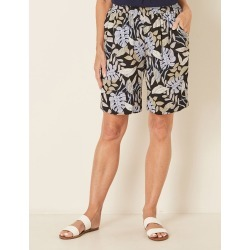 Millers Printed Rayon Short - Neutral Leaf - 8 found on Bargain Bro India from W Lane for $11.66