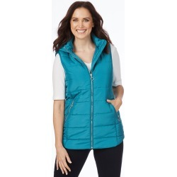 Rockmans Sleeveless Mid Length Puffer Vest - Mosaic - 8 found on Bargain Bro from Noni B Limited for USD $11.74