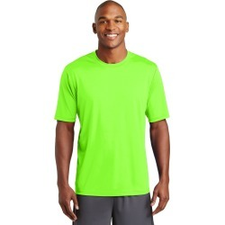 Sport-tek Posicharge Tough Tee - Neon Green - L found on Bargain Bro Philippines from Noni B Limited for $21.21