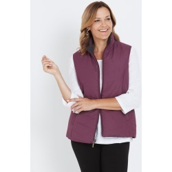 Millers Reversible Puffer Vest - Berry/pink - 12 found on Bargain Bro from Noni B Limited for USD $20.55