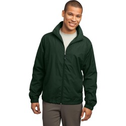 Sport-tek Full-zip Wind Jacket - Forest Green - XL found on Bargain Bro Philippines from Rockmans for $36.57