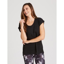Rivers Body Logic Mesh Panel Top - Black - XS found on Bargain Bro from BE ME for USD $14.09