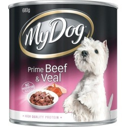 My Dog Prime Beef Veal Dog Food 12 X 680g - Multi
