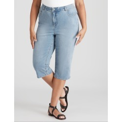 Beme Light Blue Wash Cropped Jean - 14 found on Bargain Bro India from crossroads for $30.85