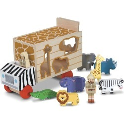 Melissa & Doug - Animal Rescue Shape Sorting Truck - Multi found on Bargain Bro India from crossroads for $36.50
