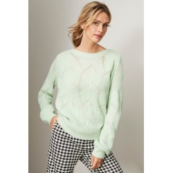 Capture Patterned Sweater - Leaf - L found on Bargain Bro from crossroads for USD $29.31