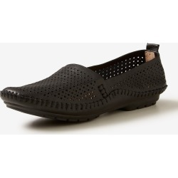 Rivers Leathersoft Lasercut Flat - Black - 40 found on Bargain Bro India from Rockmans for $21.72