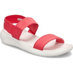 Crocs Lite Ride Sandal - Red/white - 9 found on Bargain Bro from Noni B Limited for USD $36.40
