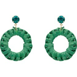 W.lane Wreath Earrings - Green found on Bargain Bro India from crossroads for $8.96
