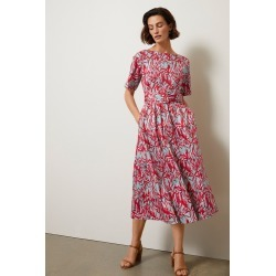 Grace Hill Belted Tea Dress - Mint Print - 10 found on MODAPINS from Rockmans for USD $46.65