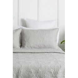 Camille Quilted Pillowcover - Ash - One Size found on Bargain Bro from Noni B Limited for USD $6.46