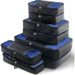 Wanderlite 8 Piece Luggage Organiser Travel Bags - Black - One found on Bargain Bro India from Rockmans for $34.53