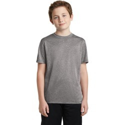 Sport-tek Youth Heather Contender Tee - Vintage Heather found on Bargain Bro India from crossroads for $15.49