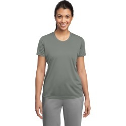 Sport-tek Ladies Posicharge Competitor Tee - Grey Concrete - XL found on Bargain Bro Philippines from Noni B Limited for $16.96