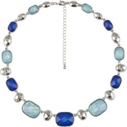 Camilla Necklace - Forever Blue found on MODAPINS from crossroads for USD $14.35
