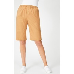 Capture Linen Blend Button Short - Toffee - 12 found on Bargain Bro from Katies for USD $20.12