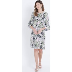 W.lane Floral Flutter Sleeve Dress - Multi - 20 found on Bargain Bro from BE ME for USD $36.63