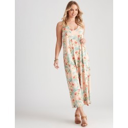 Crossroads Ring Back Knit Maxi Dress - Tropical Floral - 10 found on Bargain Bro Philippines from crossroads for $19.65