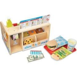Melissa & Doug - Slice & Stack Sandwich Counter - Multi found on Bargain Bro India from crossroads for $78.35
