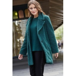 Emerge Teddy Coat - Forest - 12 found on Bargain Bro from crossroads for USD $41.61