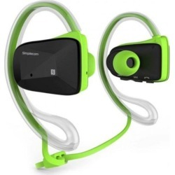 Simplecom Ns200 Bluetooth Neckband Sports Headphones With Nfc - Green found on Bargain Bro India from crossroads for $57.89