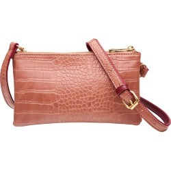 Amber Rose Embossed Twinzip Shoulder Bag - One Size found on Bargain Bro India from Katies for $26.68