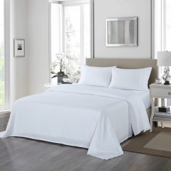Royal Comfort 1200tc Ultra Soft 4-piece Sheet Set - White - King found on Bargain Bro India from W Lane for $56.98